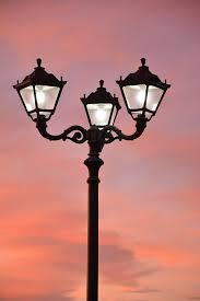 A kültéri lámpa jól néz ki