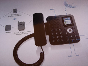 Kis irodai telefon
